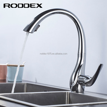 Good quality special design fashion kitchen faucet brass body desk mounted single handle kitchen tap