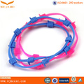 factory wholesale silicone hand chain for kids children cute design hand ring