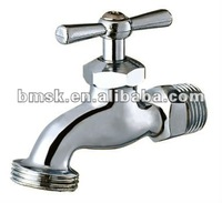 China Yuhuan Brass Bibcock valve water tap thread faucet