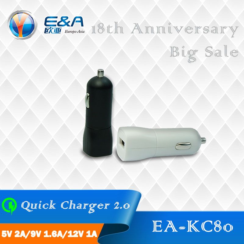quick charge 2.0 3.0 usb car charger for mobile phone charge