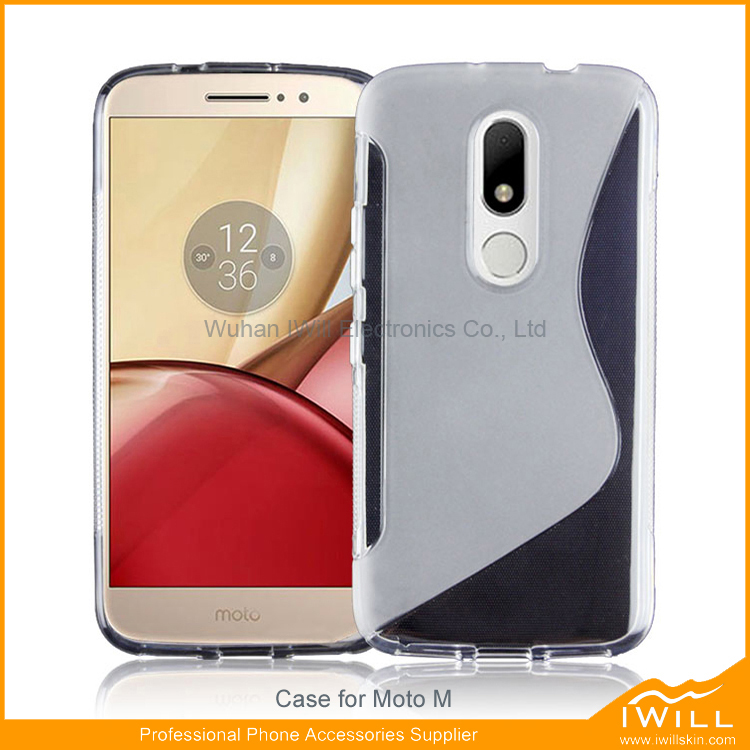 For Moto M S line tpu case, cell phone accessories soft tpu back cover for Moto M S Pattern Case