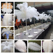 party ostrich feathers for wedding centerpiece