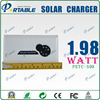 Factory supply 3000mAH folding solar panel battery charger 3.7v