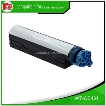 Compatible toner for OKI B431D/431DN