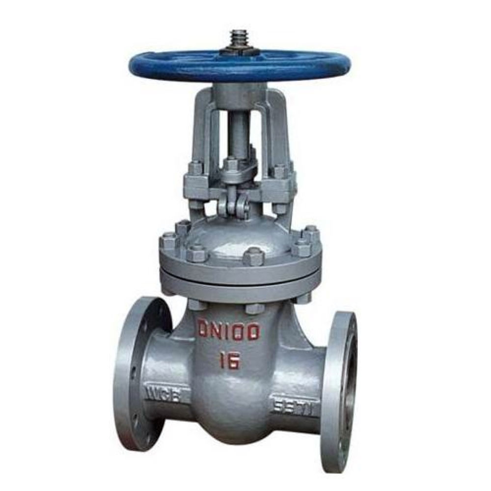 China made low price high quality flanged casting steel gate valve for water