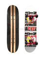 31x8 inch pass EN71 skateboard 100% China Maple stereo vinyl wood cruiser skateboard