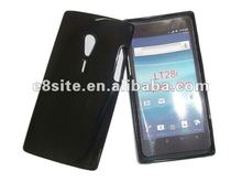 Have Stock Solid Black TPU Gel Case For Sony LT28i Xperia Ion