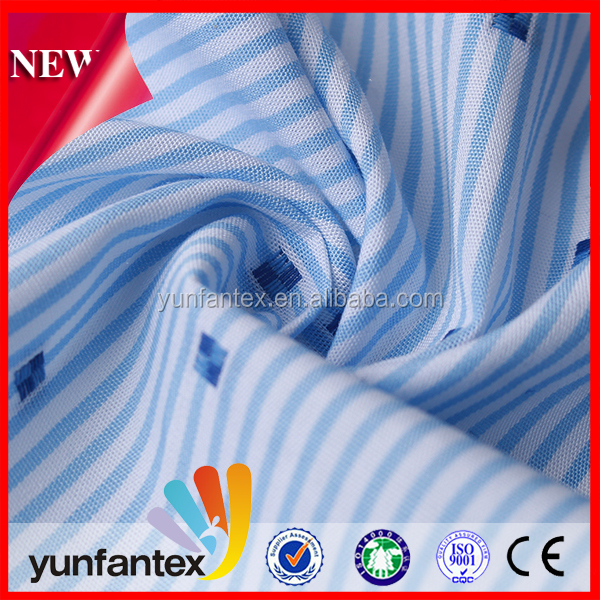 2016 Factory price woven cotton plain dyed shirt fabric
