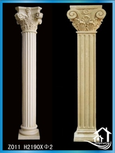 Light weight artificial stone column