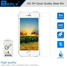 9H tempered glass For iphone 5/5s/se screen protector protective guard film front case cover +clean kits