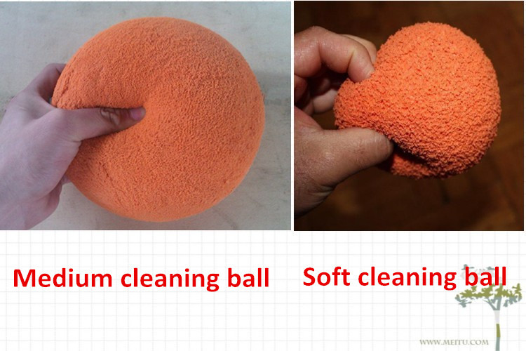 cleaning sponge foam wiper ball