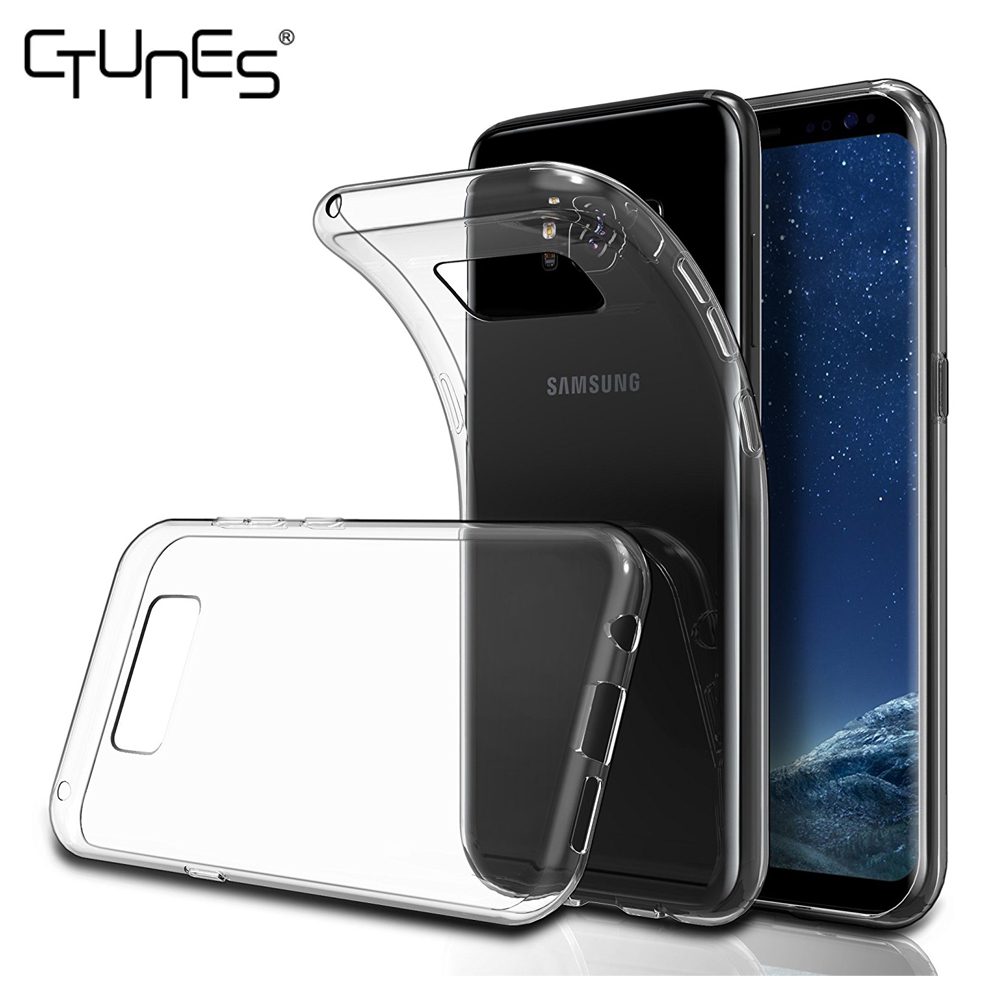 For Samsung Galaxy S8 Cover,Anti Slip Scratch Resistant Soft Clear Transparent Cover Case For Samsung Galaxy S8 5.8""