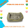 Pet Bed for Dog Cat Puppy Kitten Soft Small Green Cuddler Mat Pad Sleep Crate
