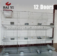 Metal Rabbit Farming Battery Cages