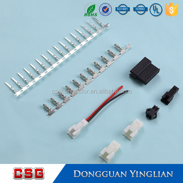 JST 2.5 SM 2-Pin Battery Male Female Connector Plug and crimp