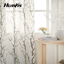 Fashion curtain accessory fashion linen/pol printing curtain