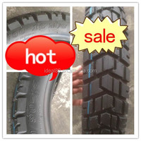 tubeless motorcycle tire 110/90-17 and 110/90-16 with new off-road pattern (own factory)