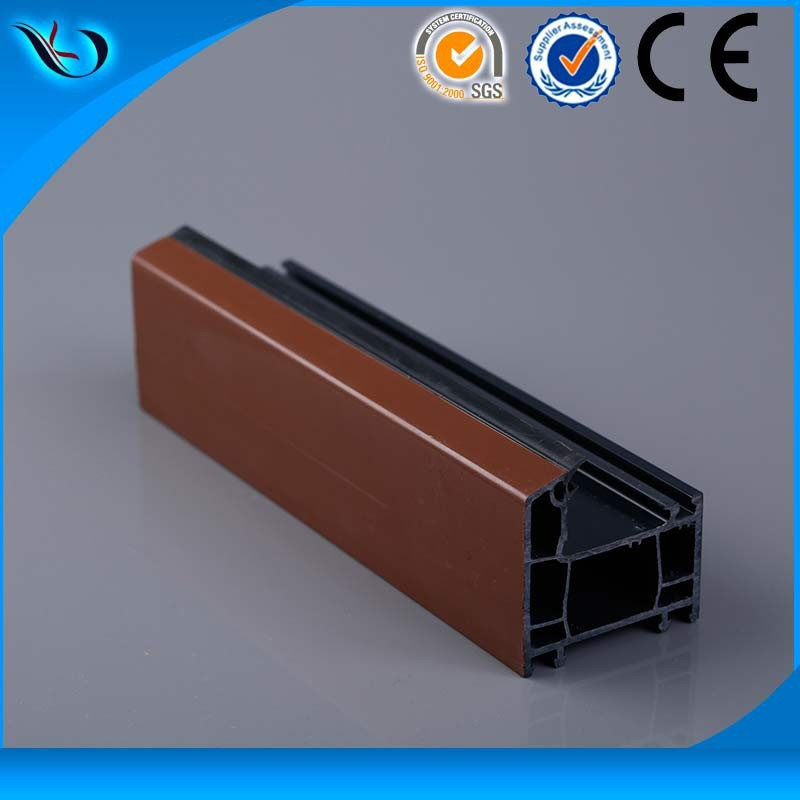 U PVC profile door and window frame