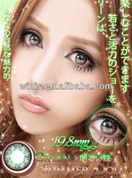 19.8mm big size wholesale colored contacts /circle cosmetic contact lens