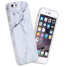 Wholesale high quality IMD printing white black marble phone cases cover for iphone 7 8 6 case marble