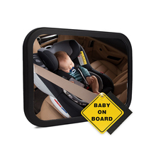 Premium detachable backseat baby mirror with robust package
