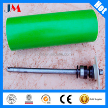 Transporting industrial used Plastic roller, PE nylon roller for belt conveyor system in machinery
