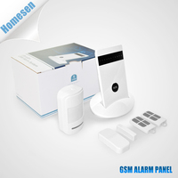 8 Wireless Zones GSM Network Home Security Alarm System Made In China
