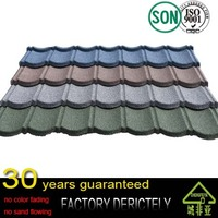 100% factory selling hot price Colorful Stone Coated Metal Roofing /Steel Roofing Tile