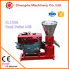 Low consumption wood pellet machine diesel with CE, KL120A