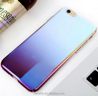 Blue Light Ray Mirror Reflected TPU Phone Cases for iPhone 7 Soft Silicon Case Back Coque Cover