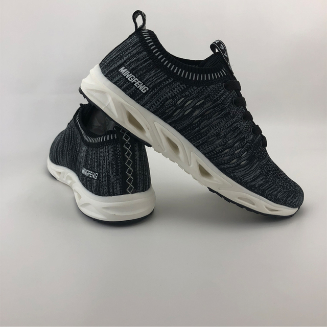 High quality walking sport shoes male slim sports footwear casual lace up sneaker walking shoes for men