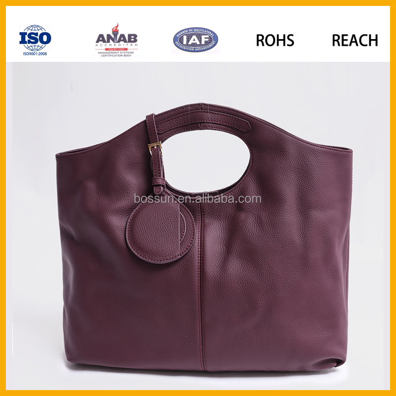 Lady Bags Fashion 2016 wholesale good handbags for busness women made in china