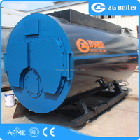 8ton oil fired steam boiler LDO fuel steam boiler 8000kg
