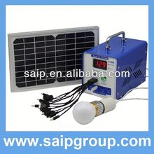 Newest high quality 80w solar system for home appliances,mini solar generators for home