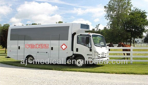 Mobile Medical Clinic XQX5100(Customer Need Design Mobile Medical Truck)