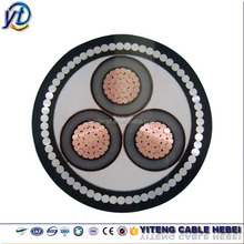 High tension armored cable steel wire armoured XLPE insulated PVC Power cable
