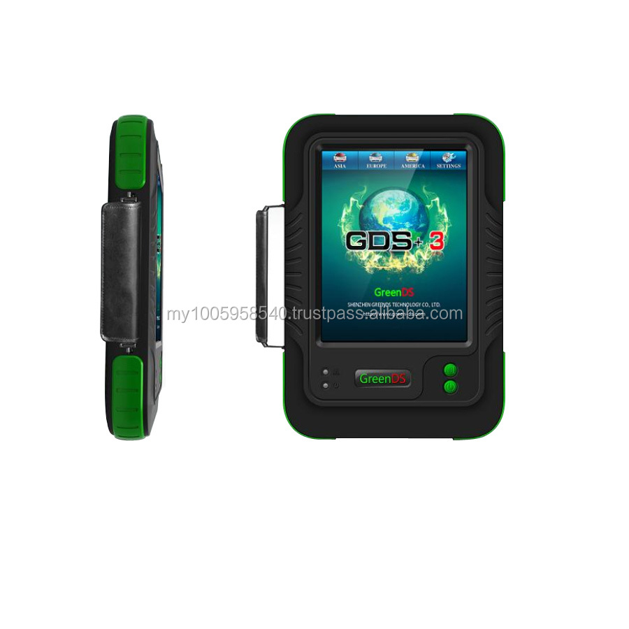 Newest Original TFT Touch Screen OEMSCAN GreenDS GDS with Printer Update ONline much better than g scan diagnostic tool