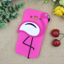 Pink Flamingo Unbreakable Phone Cover Silicone Cell Phone Case