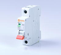 Factory price SSPD brand MCB mini 2 amp circuit breaker