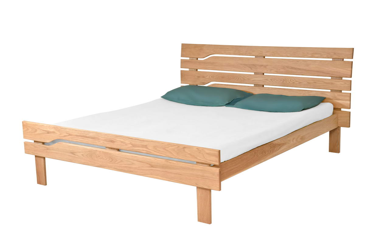 Bristol King Size - made in USA White Oak