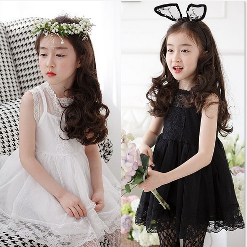 2016 Tops Designs Party Bridesmaid Cinderella Girls Dresses For Children