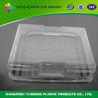 Non-slip biodegradable cheap promotional disposable flat pack container
