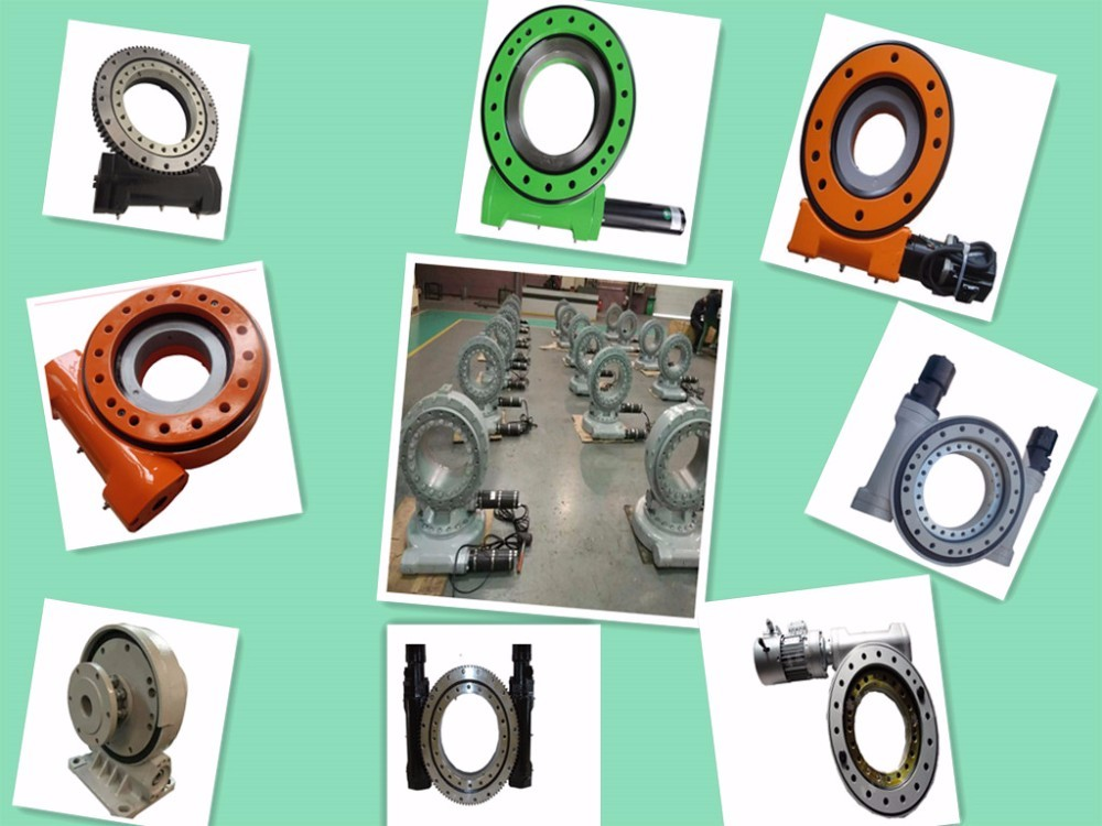 Ranked NO. one in supplying slewing drive for solar tracker slewing bearing rings