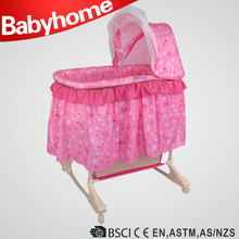 moving bassinet wicker baby basket baby bassinet for wholesale