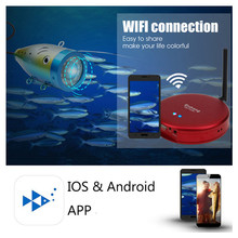 Erchang New WiFi Underwater Fishing Camera Aluminum Alloy Design 1000TVL Metal Camera Professional Fishfinder+ Power Bank