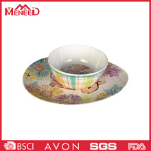 New design durable dinner set melamine tableware