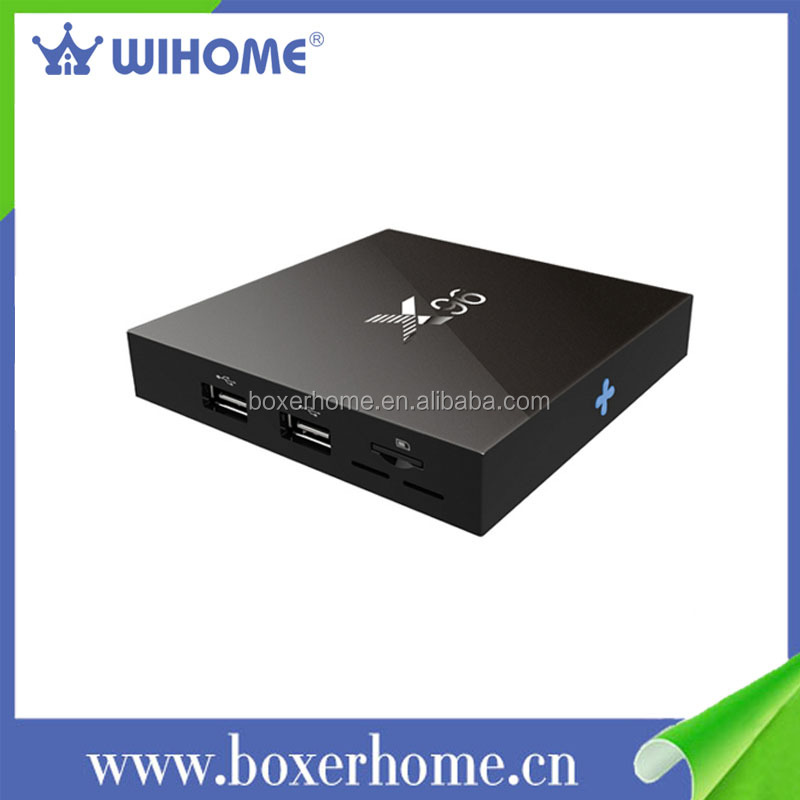 S905X quad core 1gb ram 8gb rom scart android 6.0 tv box wh- X96 firmware digital satellite receiver
