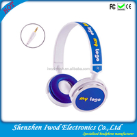 high-end customized logo headphone available 2014 new design products for boys