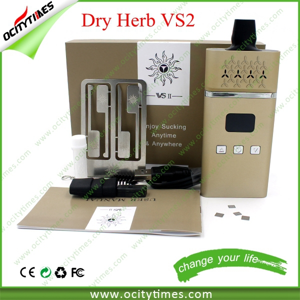 Favorable and competitive dry herb vaporizer kit vs3 vaporizer & titan 3 vaporizer with gift box