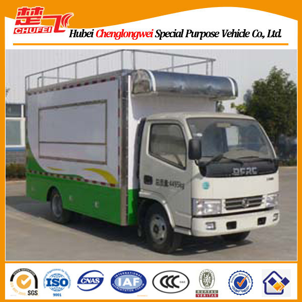 Dongfeng 4X2 mobile workshop truck mobile food truck for sale
